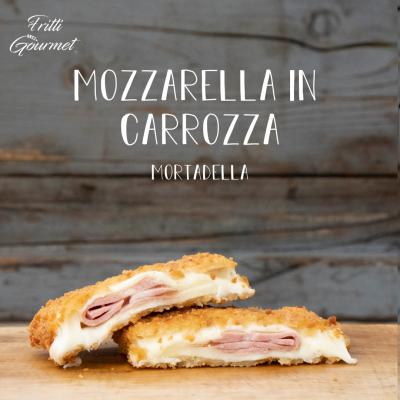 Mozzarella in carrozza - Mortadella
