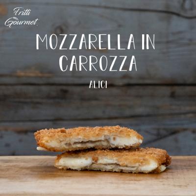 mozzarella in carrozza - Alici